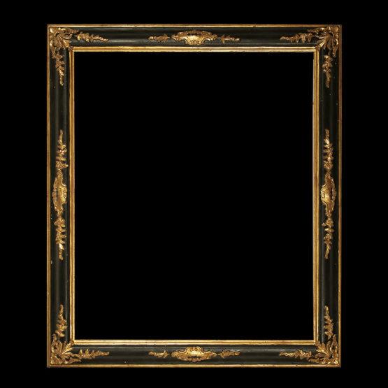 cornice veneziana oro e nero