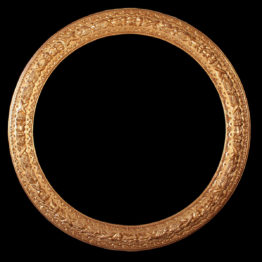 cornice antica rotonda